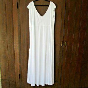 Grecian Maxi Dress 3X Long Cruise Beach Bride